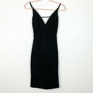 Lulus SM Black Show Me Off Strappy Backless Dres